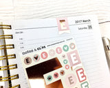 Alphabet Stickers - Notes & Clips