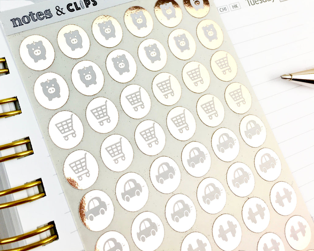 Lifestyle Stickers - Notes & Clips