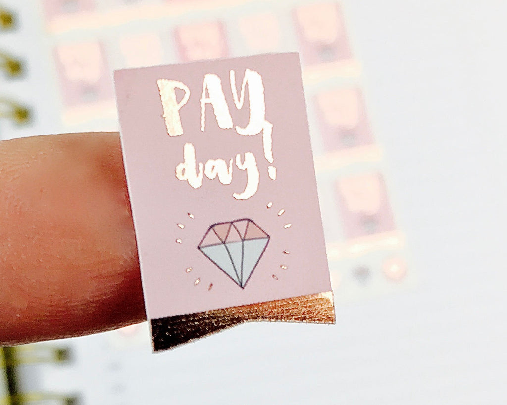 Pay Day Stickers - Notes & Clips