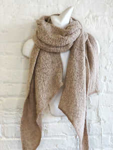 Super soft boucle scarf