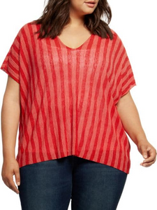Hibiscus coral top with cami