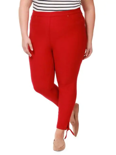 Dex plus pull on pants with side tie-CURVY