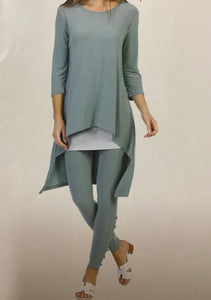 Hi-Low Tunic with Asymmetric Hem