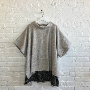 Beige boucle tunic-ONE SIZE