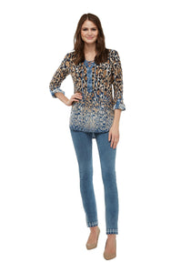 Luxe Denim Ankle Mini Pearl Jegging