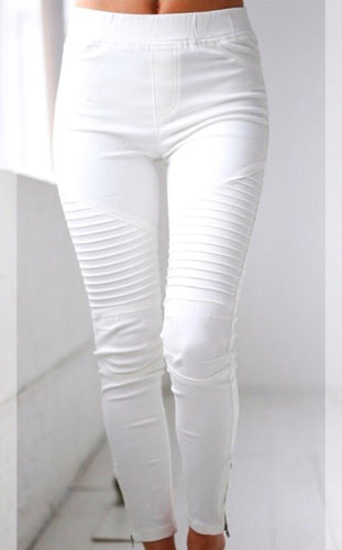Motto Jeggings with Zipper hem