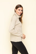 Soft pull over neck sweater