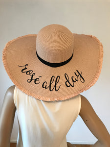 1635e63f064 Rose All Day Floppy Hat – Blissed Out Boutique