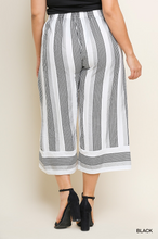 High waist cropped pant-CURVY