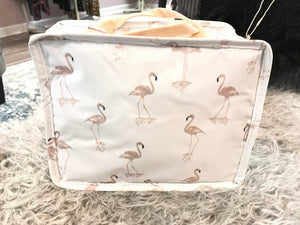 Flamingo lunch bag