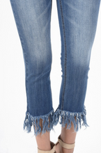 Judy Blue Fray Cropped Jeans