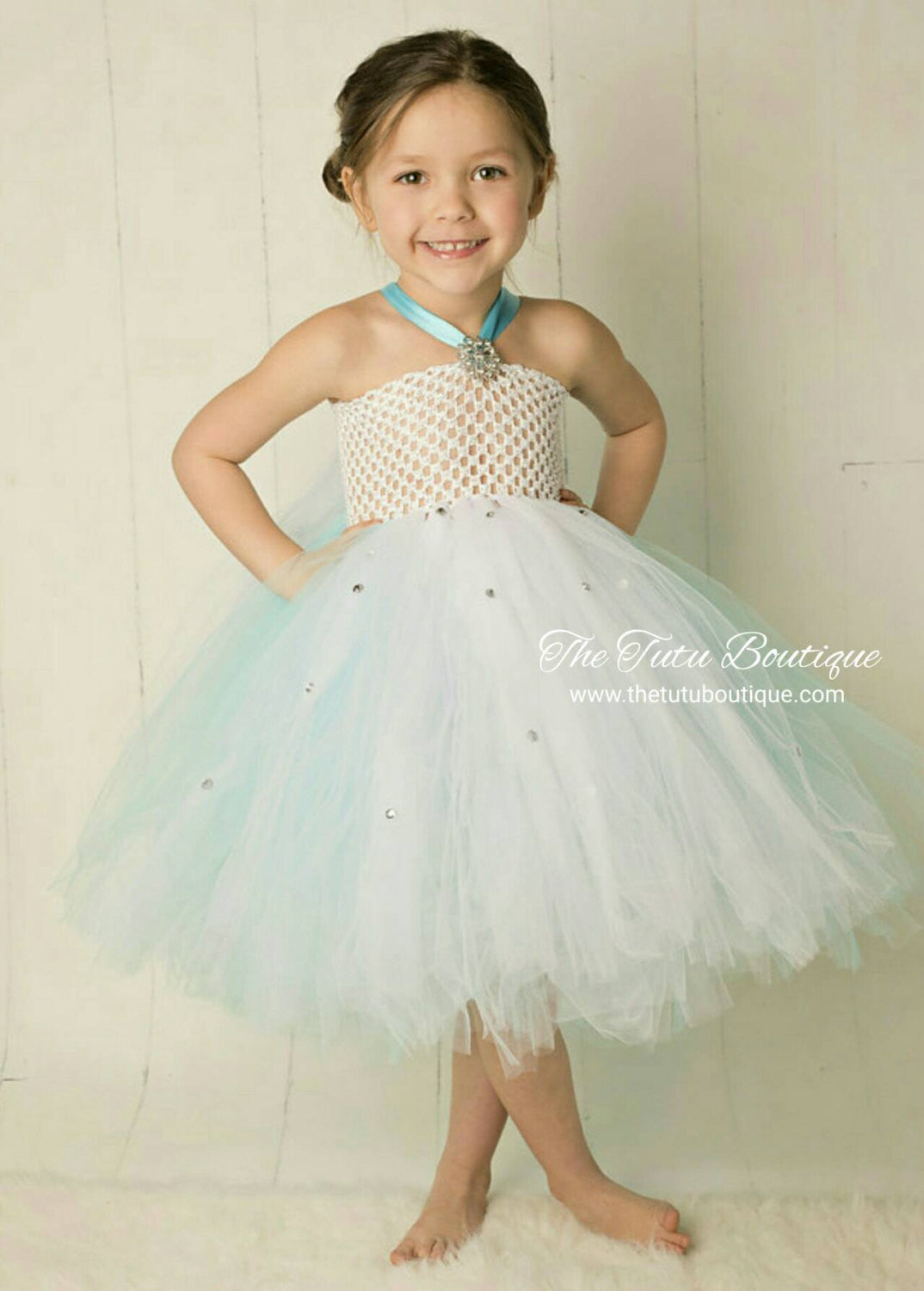 Princess Elsa Tutu Dress, Queen Elsa, Flower Girl Tutu Dress ...