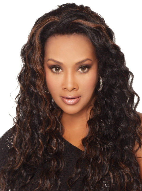 25 inch wig with loose layered spiral curl | AUGUSTA-V Augusta Wig | Vivica A Fox