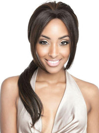 HIGH TEMPERATURE HAND TIED PART AFRO BOB WIG Finish Length: 11"