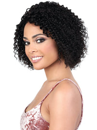 100% PERSIAN HUMAN HAIR TIGHT CURLY PAGE WIG Finish Length: 11"