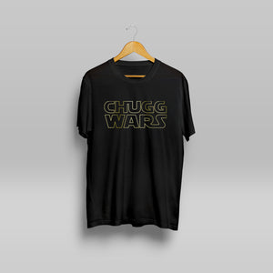Black Chugg Wars Tee