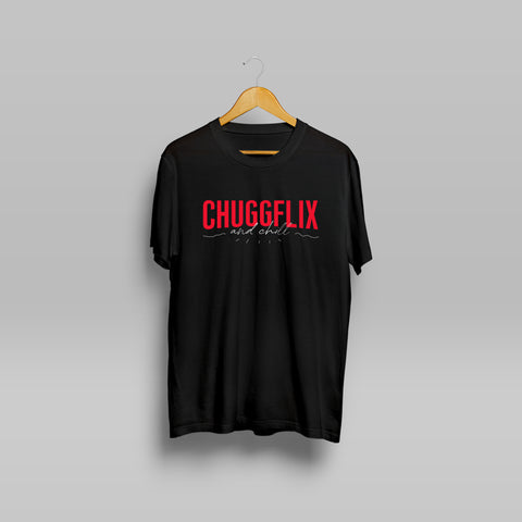 LIMITED EDITION - Chuggflix & Chill T-Shirt (Pre-Order)
