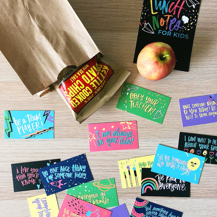 Encouraging Lunch Notes For Kids