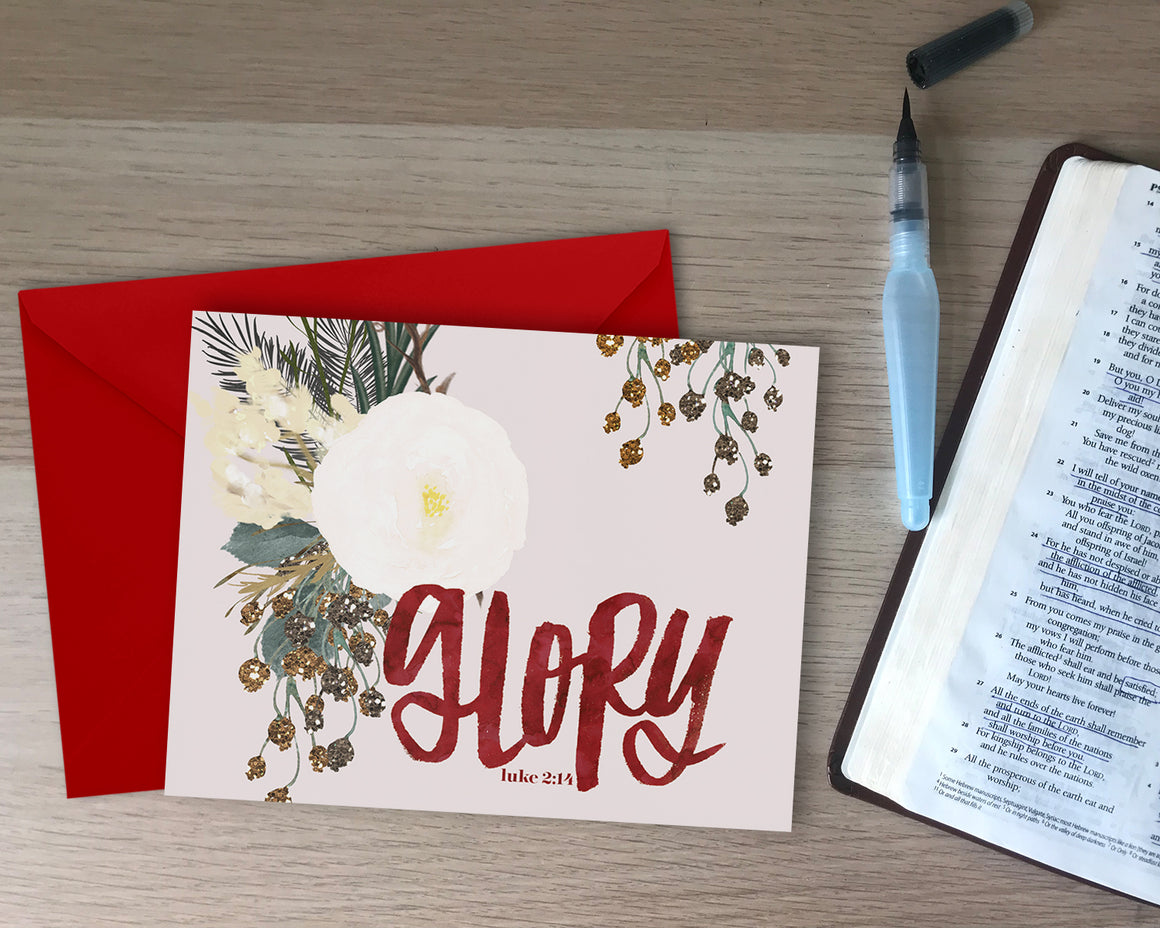 Glory Holiday Card