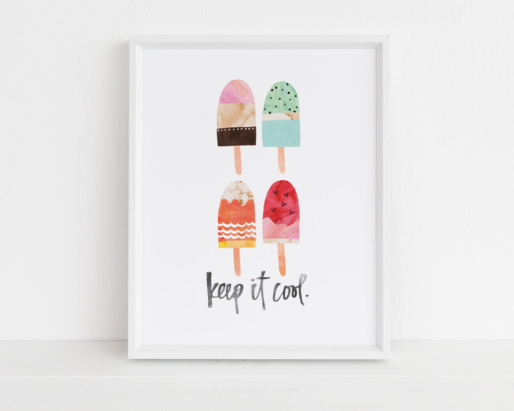 Keep It Cool Wall Print