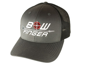 BOWFINGER CHARCOAL/BLACK SHOOTER HAT