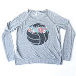 Flower Crown Long Sleeve Raglan