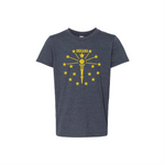 Hoosier State of Mind Kids Tee (More Colors)