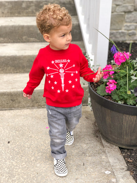 Hoosier State of Mind Toddler Sweatshirt