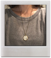 Volleyball Pendant Necklace