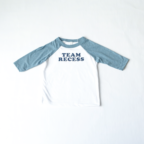 Team Recess Kid's Raglan