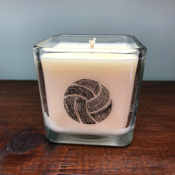 Chalk Volleyball Candle