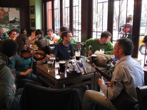 Irish Traditional Music Session with Uilleann Piper Ciarán Somers