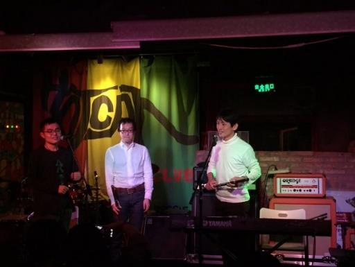 Hatao and Akio came to Beijing for a whistle workshop and concert.