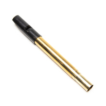 O'Brien Stowaway Telescopic Brass High D Whistle