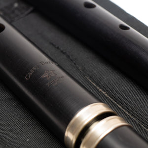 Casey Burns Blackwood Large Hole Standard 1 Key Flute