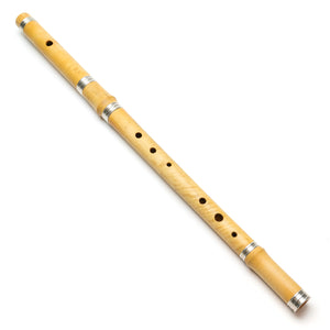 Casey Burns Small Hand Ergonomic Flute in Boxwood