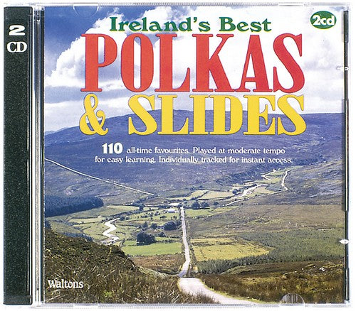110 Ireland's Best Polkas & Slides (Double CD)