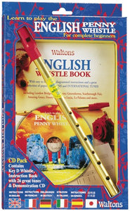Walton's English Tin Whistle Starter Kit