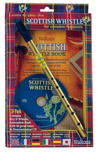 Walton's Scottish Tin Whistle Starter Kit