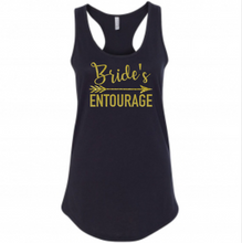 Bride & Bride's Entourage Tank Top, Wedding, Bachelorette