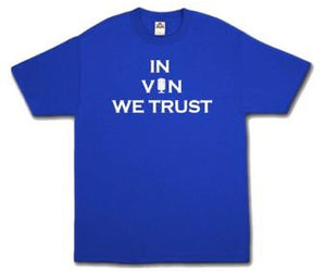 Men's Dodger Shirt, In VIN We Trust, Vin Scully, LA Dodgers, Los Doyers, Dodgers Baseball
