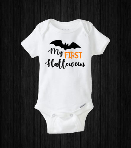 My First Halloween, Baby Bat Onesie, Holiday