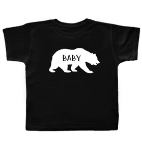 Baby Bear Shirt, Matching Family Shirts