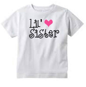 Big Sister and Little Sister Shirts, Matching Girl Shirts, Pregnancy Announcement, Proud Sister