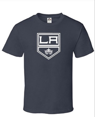 Men's Kings Shirt | LA Kings Shirt | Los Angeles Kings Logo | Go Kings Go, Hockey | Kings Crown