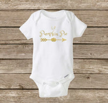 Lil Pumpkin Pie Onesie, Little Pumpkin Thanksgiving Baby, Happy Fall