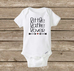 Little Latke Lover, Baby's First Hanukkah Onesie, Chanukah, Happy Hanukkah