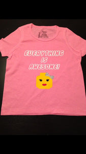Girls Lego Shirt, Everything is Awesome, Legoland