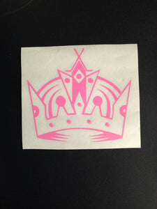 LA KINGS Crown Los Angeles Hockey Sports Sticker Decal | Vinyl Car Sticker Decal | Sports
