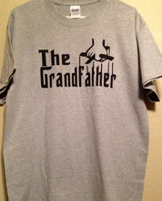 The Grandfather Shirt | New Grandpa Tee Shirt | Father's Day Shirt | The Godfather